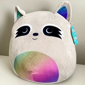 BNWT Squishmallows Max The Raccoon 16 inch - Large